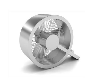 Ventilador Q - design by Carlo Borer